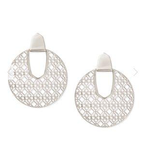 Kendra Scott • Diane Filigree Statement Earrings